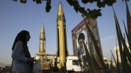 Die Entwicklung iranischer Raketen soll intensiviert werden.