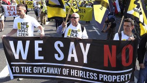 Polen will nicht über beschlagnahmtes jüdisches Eigentum reden