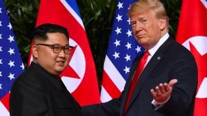 Treffen von Trump und Kim findet Ende Februar statt