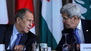 Syrien-Diplomatie am Rande der Resignation