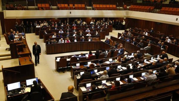 Vorgezogene Neuwahl in Israel angekündigt