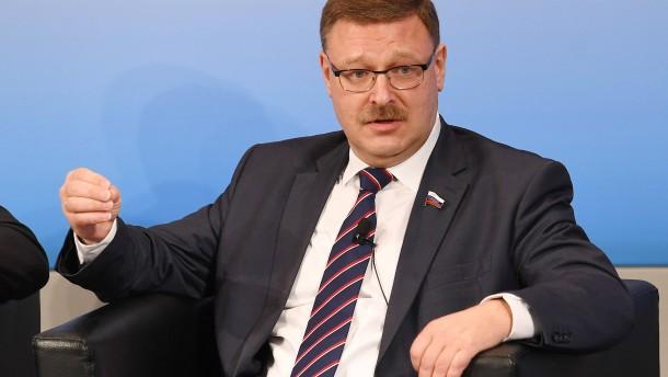 Russischer Politiker hofft auf Entspannung