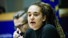 Applaus für Carola Rackete im EU-Parlament