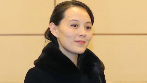 Die neue starke Frau in Pjöngjang
