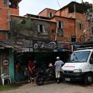 Auch hier wird gegen das Coronavirus gekämpft: Bewohner in der brasilianischen Favela Paraisópolis