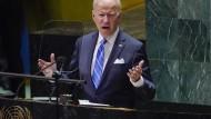 Rede vor den UN: Für Biden dreht sich alles um China