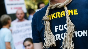 Korruption ruiniert die Ukraine