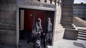 Burkaverbot in Dänemark tritt in Kraft