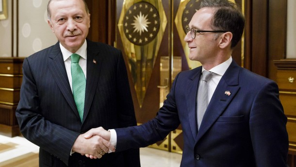 Maas hofft auf Verbesserung der Türkei-Beziehungen