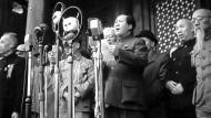 Spätestens heute weiß man, dass Mao am 1. Oktober 1949 mehr verkündete, als nur eine Kabinettsliste: Er rief vor 70 Jahren die Volksrepublik China aus.