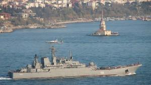 Russland schickt 15 Kriegsschiffe ins Schwarze Meer