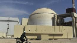 Iran will Atomdeal nicht nachverhandeln