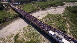 Showdown an den Brücken des Río Táchira