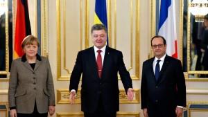 Merkel reist zuversichtlich nach Moskau