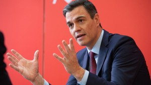 """""""Spanien braucht Stabilität"""""""