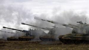 Russische Kampfbereitschaft