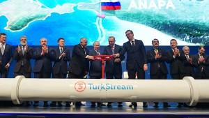 Energieversorgung von Putins  und Erdogans Gnaden