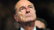 Jacques Chirac im Januar 2005 in Toulouse