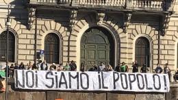 Gegen Maskenpflicht und Papst Franziskus