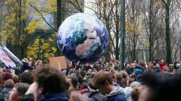 65.000 Menschen demonstrieren in Brüssel für grüneren Planeten