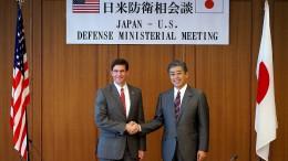 Amerika wirbt in Japan für Hormuz-Mission