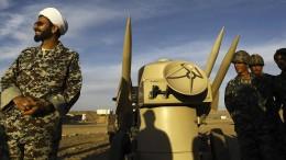 Iran verkündet Ende des UN-Waffenembargos