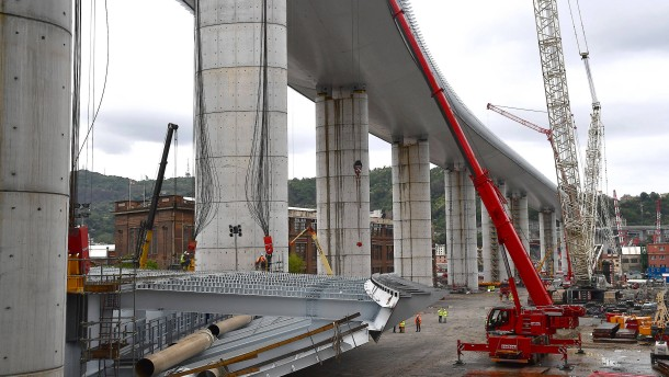 Diese Brücke soll Italien wieder Hoffnung geben