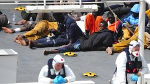 Wie Brüssel nach Ländern sucht, die Migranten aufnehmen