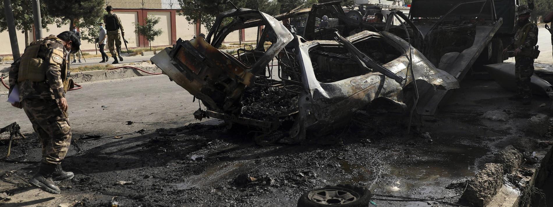 Mindestens sieben Tote bei Anschlägen in Kabul
