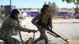 Harte Gefechte um Grenzstadt
