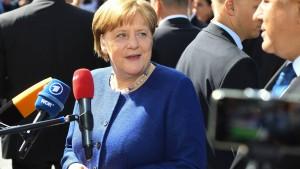 Merkel: Atomabkommen beste Grundlage für Gespräche