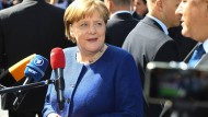 Entschlossen: Angela Merkel