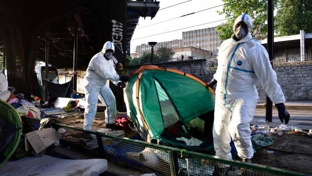 Gericht verurteilt Frankreich für Umgang mit Migranten