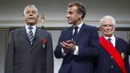 Macron will ehemalige algerische Kämpfer für Frankreich entschädigen