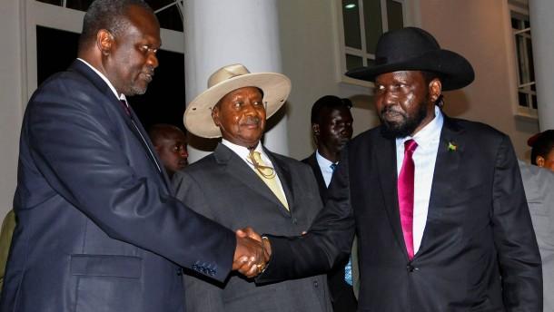 Konfliktparteien unterzeichnen Friedensabkommen
