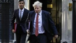 Boris Johnson begibt sich in Selbstisolation