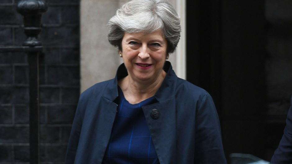 Theresa May könnte in Schwierigkeiten geraten, wenn sich Abgeordnete ihrer eigenen Partei gegen sie wenden.