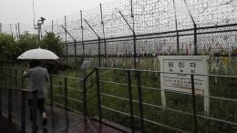 Nordkorea stoppt Militäraktionen gegen Südkorea