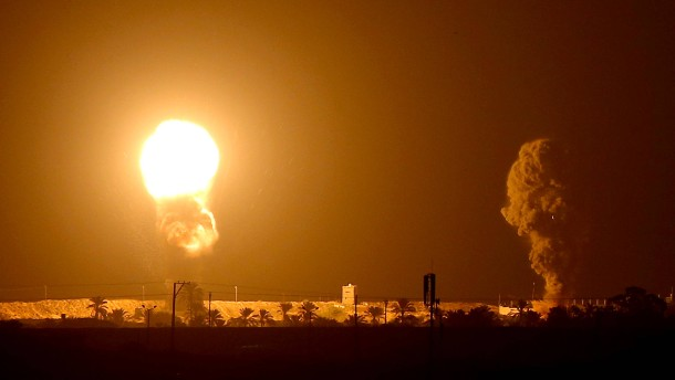 Israelische Luftwaffe greift Ziele in Gaza an