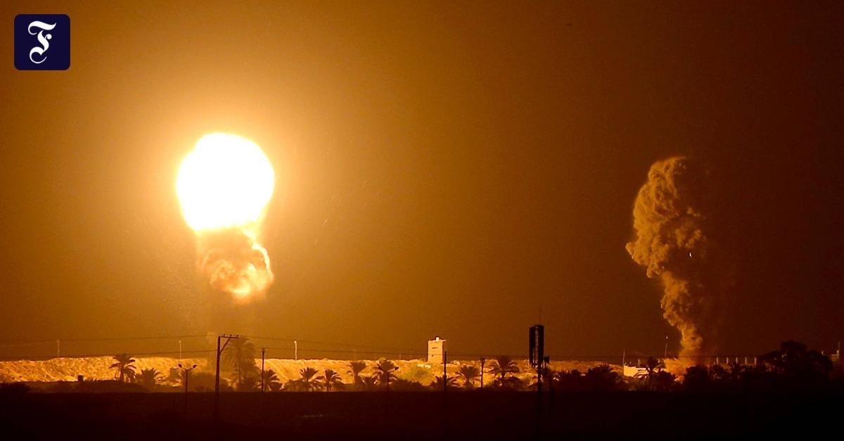 Nach Raketenangriffen: Israelische Luftwaffe greift Ziele in Gaza an