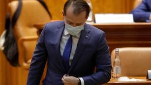 Rumäniens Regierung gestürzt