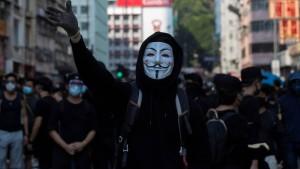 Hongkongs Regierung plant Vermummungsverbot