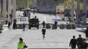 Italien begeht die Festtage im Lockdown