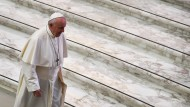 Papst Franziskus im Mai in Vatikan