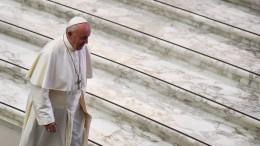 """Papst: """"Abtreibung ist nie die Antwort"""""""