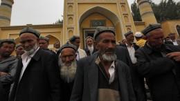 China überwacht Uiguren mithilfe amerikanischer Technik