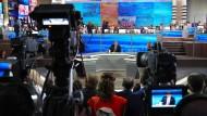 """""""Meine Enkel sollen wie normale Leute aufwachsen"""": Putin gibt sich volksnah."""