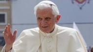 Als Papst Benedikt XVI. noch im Amt war