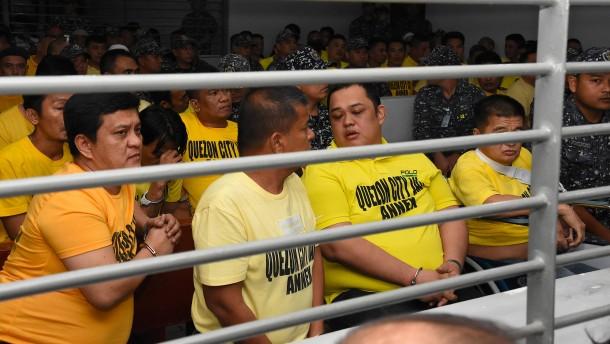 Lange Haftstrafen für Clan-Mitglieder auf den Philippinen