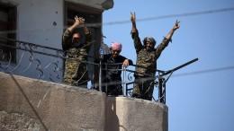 Kurden erobern Raqqa